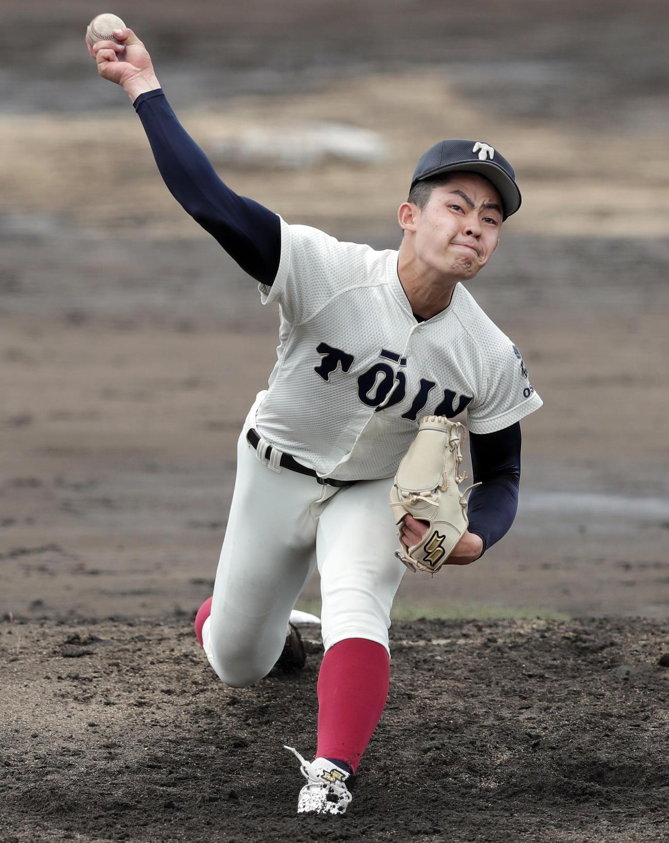 大阪桐蔭・関戸康介(2021年5月16日撮影)