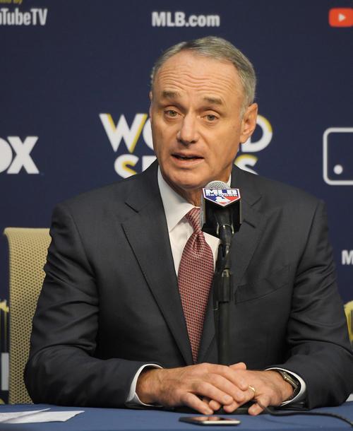 MLBのマンフレッド・コミッショナー