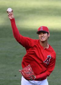 大谷 キャッチボール再開 右手中指マメは軽症か - MLB : 日刊スポーツ