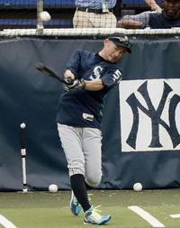 イチロー「でかい人しか勝てない」本塁打競争に指摘 - MLB : 日刊スポーツ