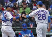 ヘンドリックス7回0封11Kで初勝利カブス4連勝 - MLB : 日刊スポーツ