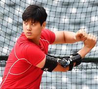 大谷は練習行わず 4月中の復帰を監督が否定 - MLB : 日刊スポーツ