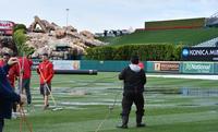 大谷スタメン外れ代打待機もエンゼルス戦は雨で中止 - MLB : 日刊スポーツ