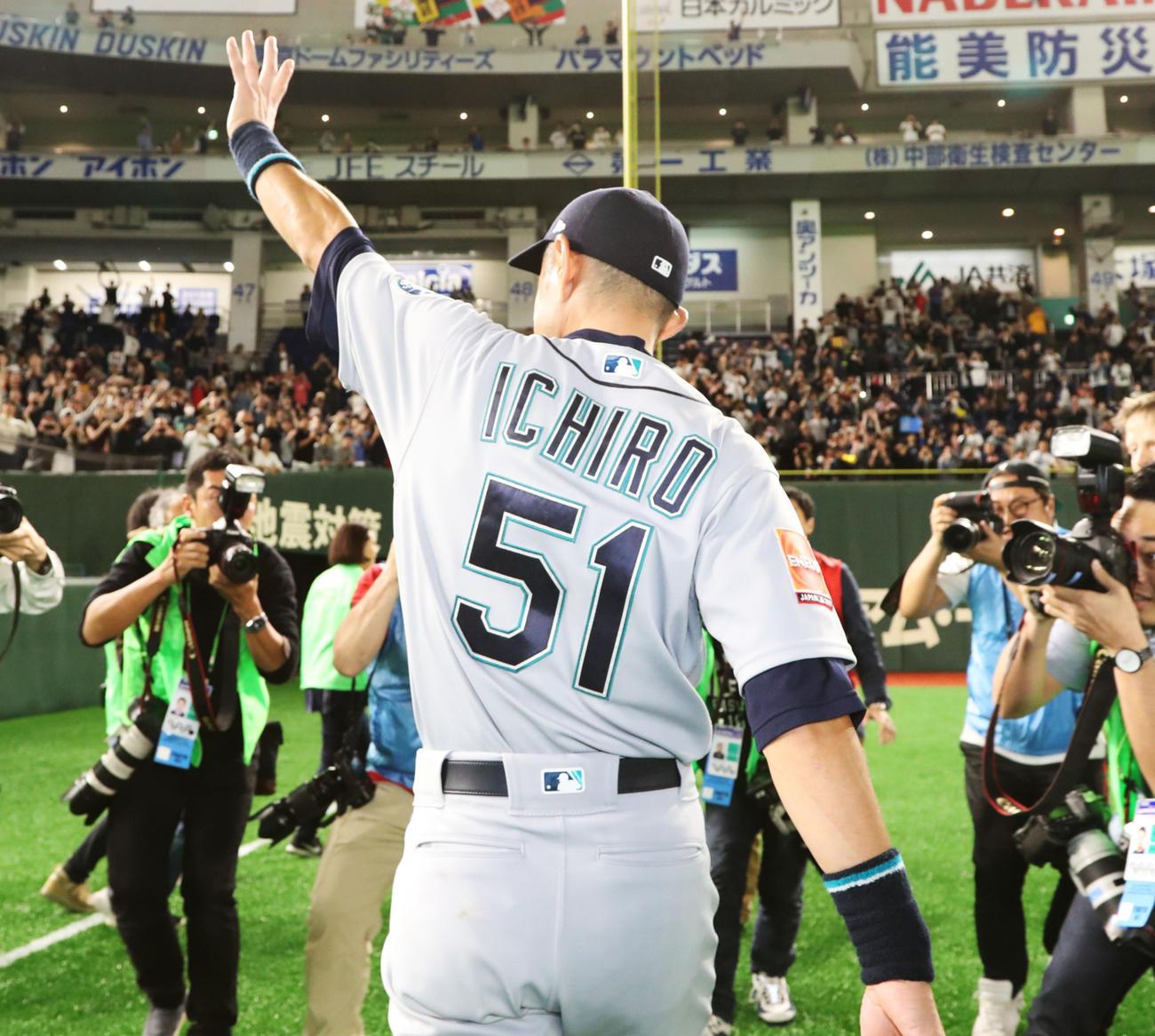 次の永久欠番候補、マリナーズはイチローらの51番 - MLB : 日刊スポーツ