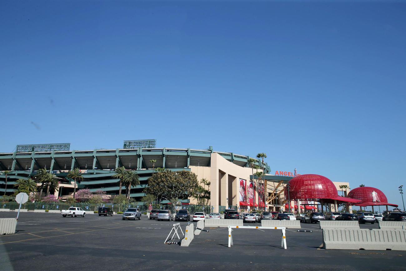 エンゼルスの本拠地エンゼルスタジアム