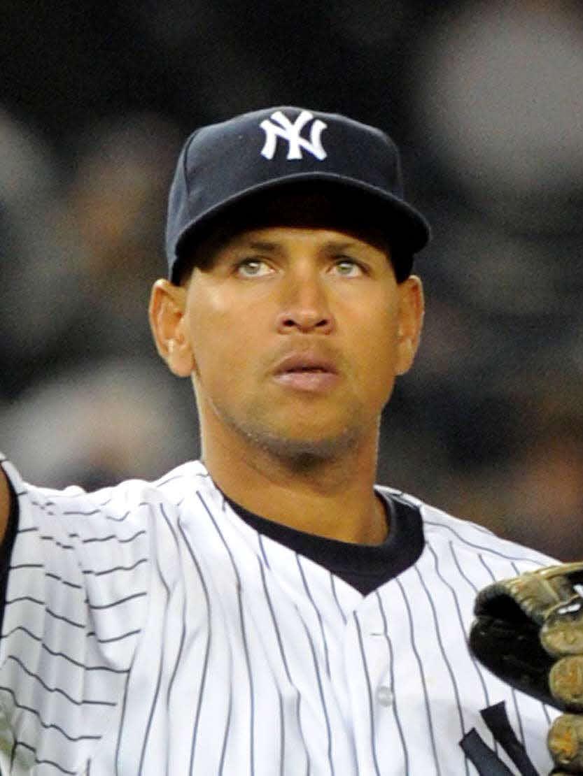 ヤンキース時代のアレックス・ロドリゲス氏(11年4月4日撮影)