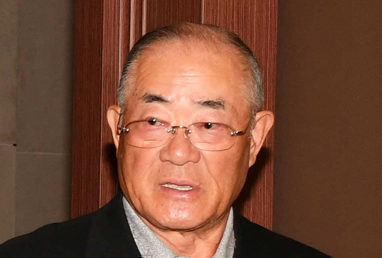 張本勲氏(2018年12月1日撮影)