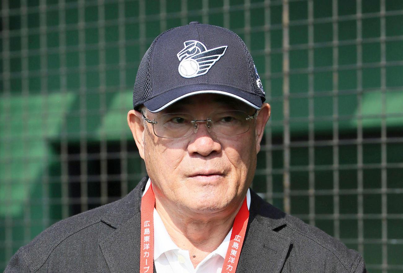 張本勲氏(2020年2月20日撮影)