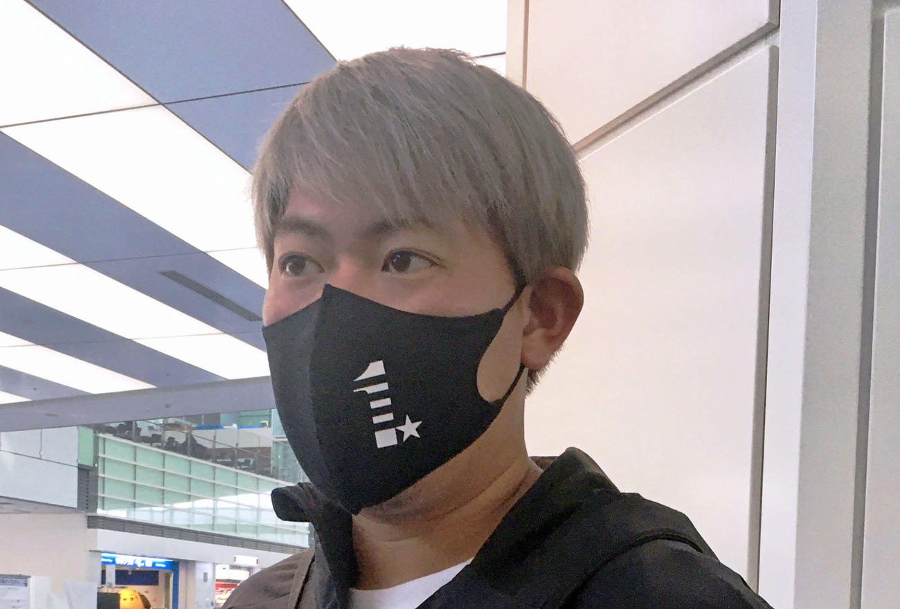 山口俊(2021年2月10日撮影)