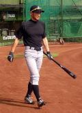 イチロー「調子こいた」投球練習で体張り - MLBニュース