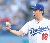 マエケン、7回4安打無失点で6勝/詳細 - MLB : 日刊スポーツ