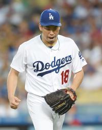 マエケン暫定先発で6勝 三塁踏ませぬ7回無失点 - MLB : 日刊スポーツ