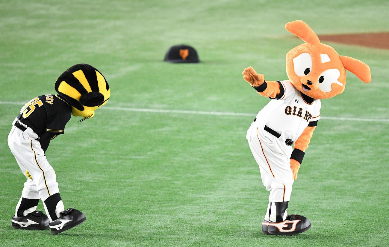 【NPB】日本プロ野球マスコット交流スレ【NPB】 (1002)