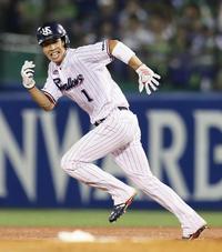 山田哲人、自己最多タイ119得点 球団記録並ぶ - プロ野球 : 日刊スポーツ