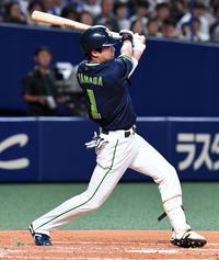 ヤクルト山田哲人「後ろに感謝」球団新の120得点 - プロ野球 : 日刊スポーツ