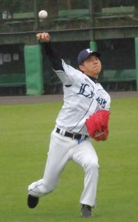 西武郭が27日鷹狩り先陣「光栄」前回登板で白星 - プロ野球 : 日刊スポーツ