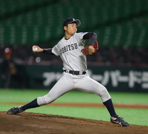 九州共立大・島内颯太郎投手