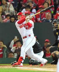 広島鈴木誠也が背番1へ、前田智徳氏の引退後空き番 - プロ野球 : 日刊スポーツ