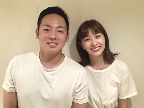 松井裕樹と石橋杏奈、結婚