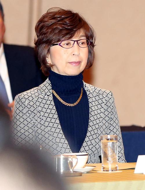 11月、オーナー会議に出席するDeNA南場智子オーナー