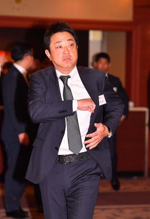 松山秀明コーチ(2019年1月12日撮影)