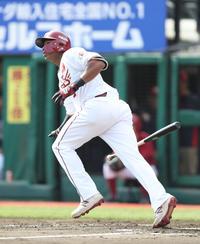 楽天オコエ初2番で先制2号「いい結果つながった」 - プロ野球 : 日刊スポーツ