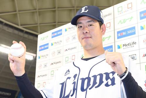 西武多和田真三郎(2019年4月12日撮影)