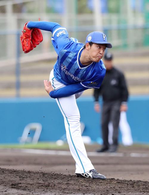 清宮キラーDeNA桜井が山川を三振斬りデビュー - プロ野球 : 日刊 ...