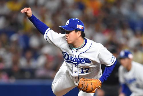 中日柳裕也(2019年6月30日)