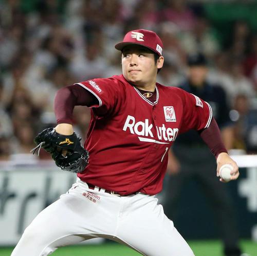 楽天松井裕樹(2019年6月2日)