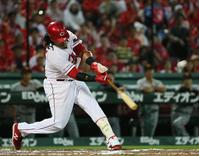 広島バティスタ2年連続20本塁打「完璧です」 - プロ野球 : 日刊スポーツ