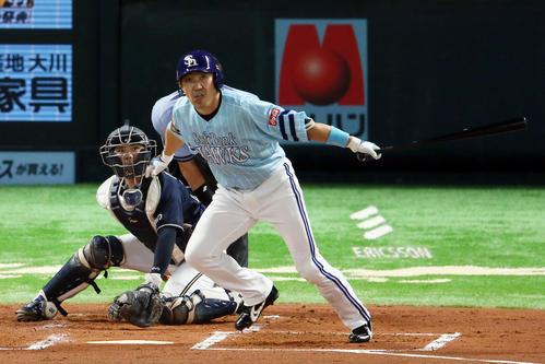 ソフトバンク内川、史上43人目の通算350二塁打 - プロ野球 : 日刊スポーツ