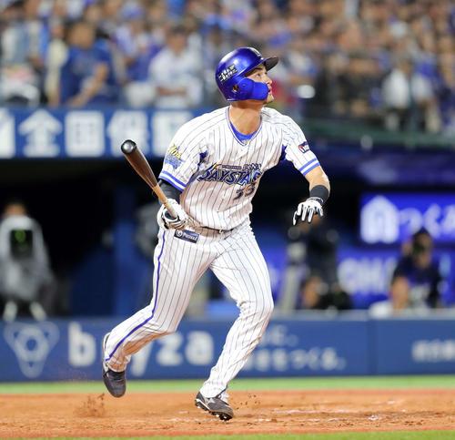 CS初!DeNA乙坂が代打サヨナラ本塁打 - プロ野球 : 日刊スポーツ