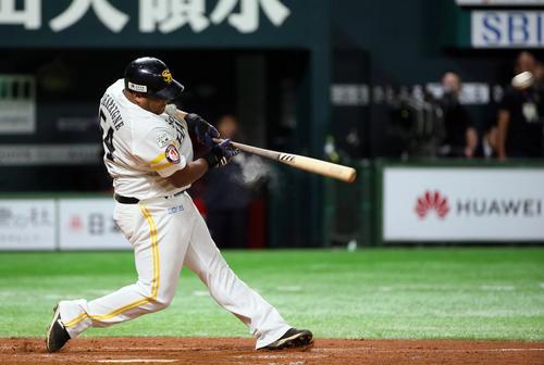 ソフトバンク・デスパイネ自画自賛5年連続CS弾 - プロ野球 ...
