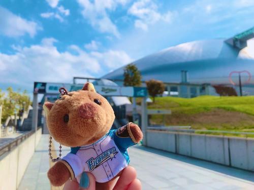 札幌ドーム到着!