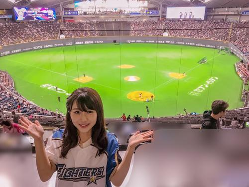 札幌ドームの初観戦!