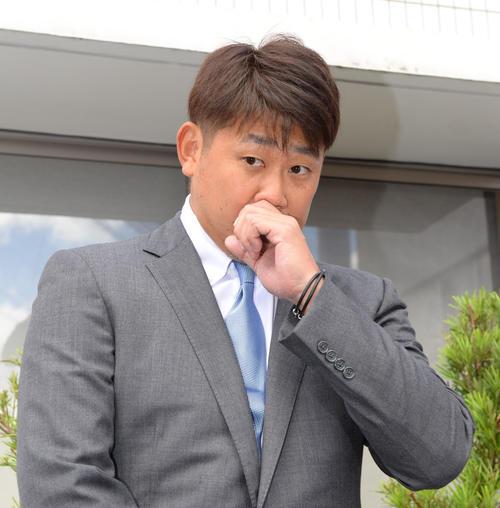 松坂大輔(2019年10月4日撮影)