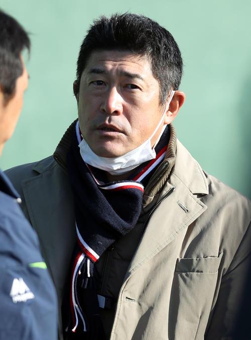 ヤクルト石井琢朗打撃コーチ(2019年1月8日撮影)