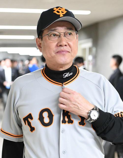巨人原辰徳監督(2019年10月20日撮影)
