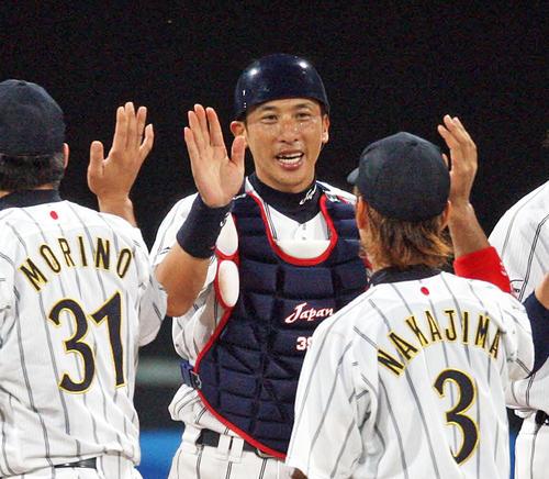 北京五輪に出場した現役時代の矢野監督(2008年8月19日撮影)