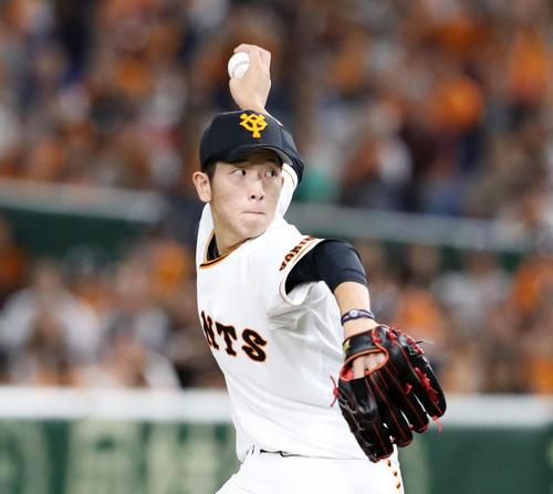 巨人戸郷翔征(2019年10月11日)