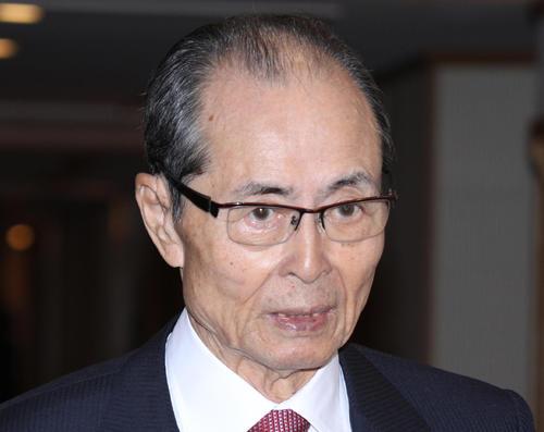 王貞治氏(2019年11月13日撮影)