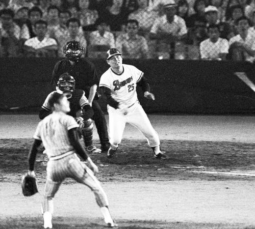 74年7月、オールスター第1戦で阪急高井保弘は代打逆転サヨナラ本塁打を放つ