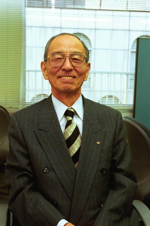 原野和夫氏(2000年12月28日撮影)