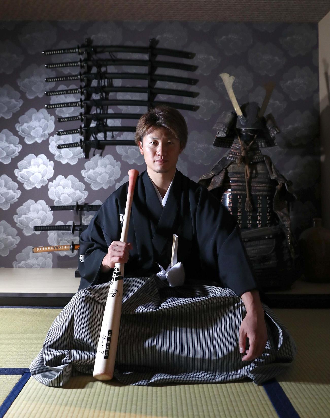 主将としてチームを率いる西川。「侍魂」で日本一奪還を目指す(撮影・黒川智章)