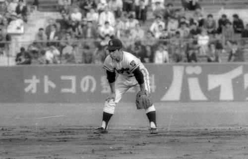 高木守道さん(1957年撮影)