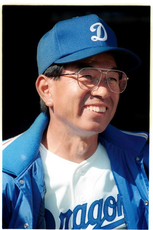 中日監督時代の高木守道氏(1991年11月9日)