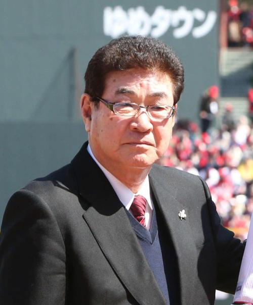 山本浩二氏(2019年3月16日)