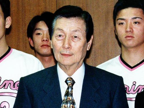重光武雄氏(94年12月13日撮影)