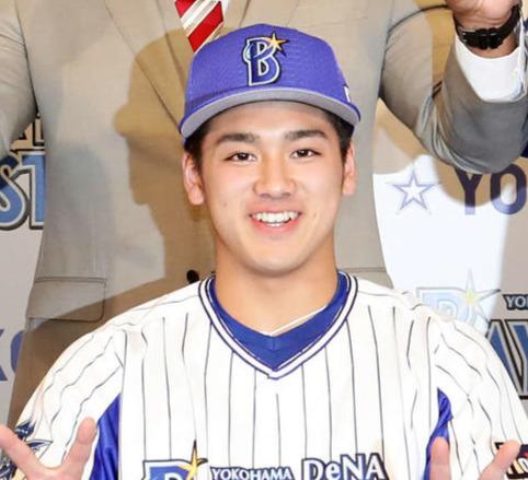 DeNA森敬斗(2019年11月21日)